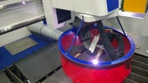 VORTEX 3D fej működés közben