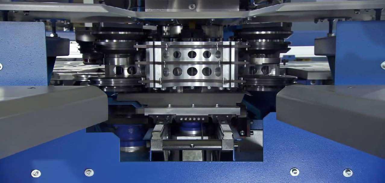 Boschert szerszámos Multipunch stancoló szerkezete