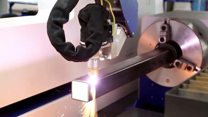 Eckert Plazma ESR csővágási bemutató